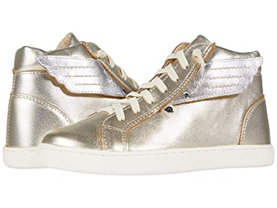 Old Soles Local Wings (Toddler/Little Kid) (Gold/Silver) Girl