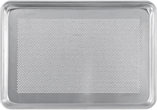 """Crestware Perforated Half Sheet Pan, 18 by 13 by 1"""", Silver"""