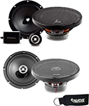 """$289 » Focal Auditor Bundle - RSE-165 6.5"""" 2-Way Component Speakers (Pair) and RCX-165 6.5"""" 2-Way Coaxial Speakers (Pair)"""