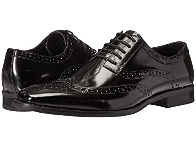 Stacy Adams Tinsley Wingtip Oxford (Black) Men
