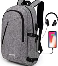 Cafele Laptop Backpack Anti-Theft Water Resistant Bookbag for Trip School w/USB