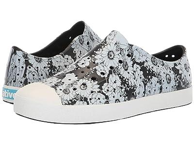 Native Shoes Jefferson (Jiffy Black/Shell White/Jardin) Shoes
