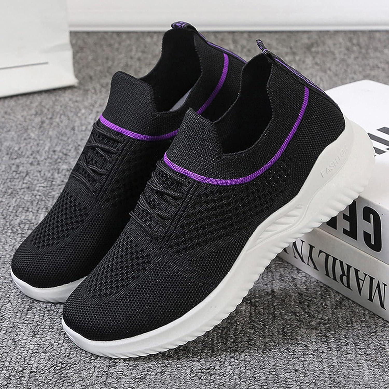Niceast Women's Sneakers Fashion Slip On Walking Shoes for Women Outdoor Sock Sneakers Casual Comfort Breatheable Sneakers