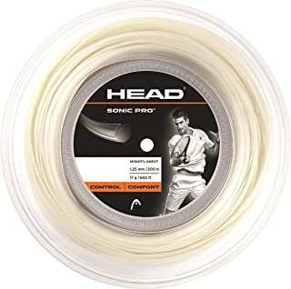 Head Sonic Pro Monofilament Tennis Racket String 660' Reel