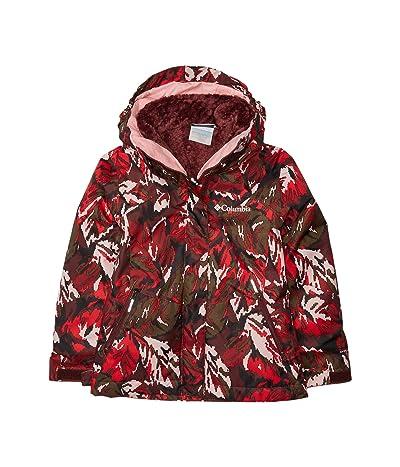 Columbia Kids Bugabootm II Fleece Interchange Jacket (Little Kids/Big Kids) (Malbec Leafscape Print) Girl