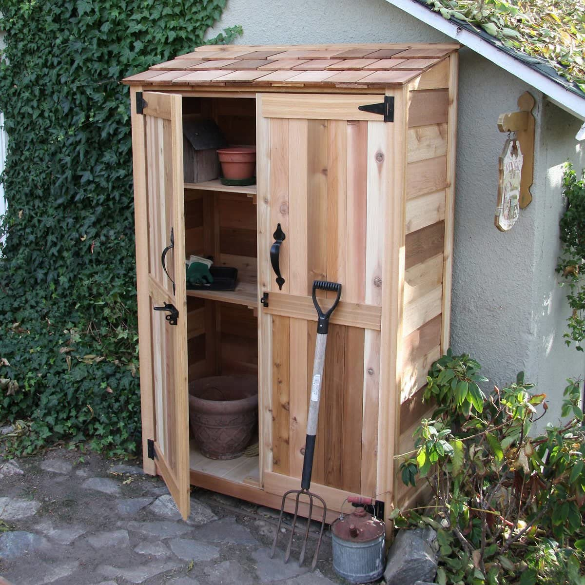 Outdoor Living Today 4' x Garden Storage Limited time cheap sale 2' Courier shipping free shipping Cedar Shed