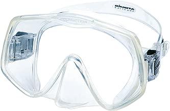 Atomic Aquatics Frameless 2 Mask (Clear, Large Fit)