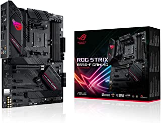 ASUS ROG Strix B550-F Gaming AMD AM4 Zen 3 Ryzen 5000 & 3rd Gen Ryzen ATX Gaming Motherboard (PCIe 4.0, 2.5Gb LAN, BIOS Fl...