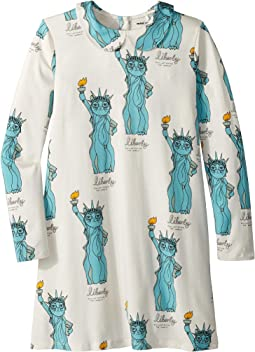 Liberty All Over Print Collar Dress (Infant/Toddler/Little Kids/Big Kids)