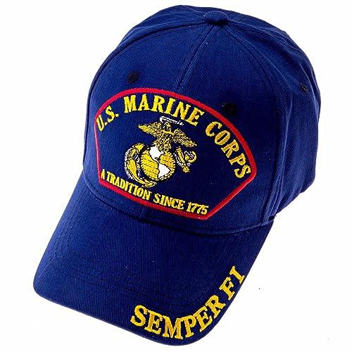 4ef44a72ac8 Exclusive Caps USMC Marine Corps Baseball Cap with Emblem