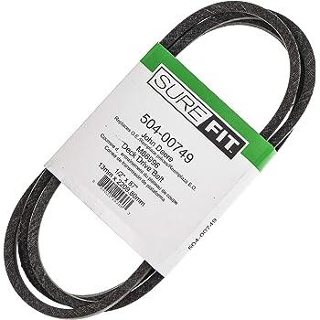 D/&D PowerDrive 248-044 STENS Kevlar Replacement Belt 1 Band Aramid