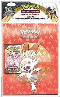 Pokemon Epée et Bouclier-Clash des Rebelles (EB02) : Pack Portfolio + Booster, POB09EB02