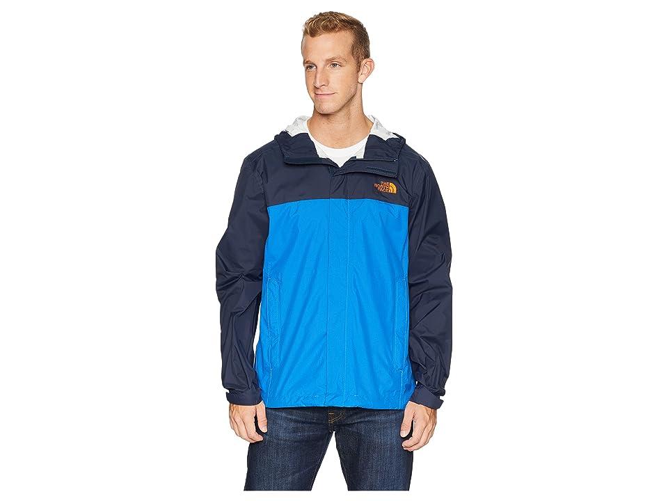 The North Face Venture 2 Jacket (Turkish Sea/Urban Navy/Persian Orange) Men