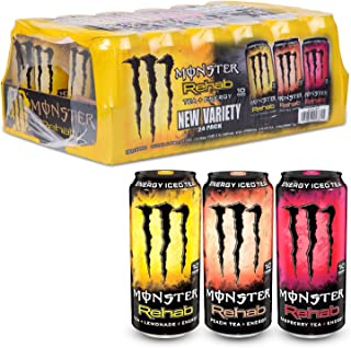 Monster Energy Rehab Variety Pack (15.5 oz. cans, 24 ct.) ES