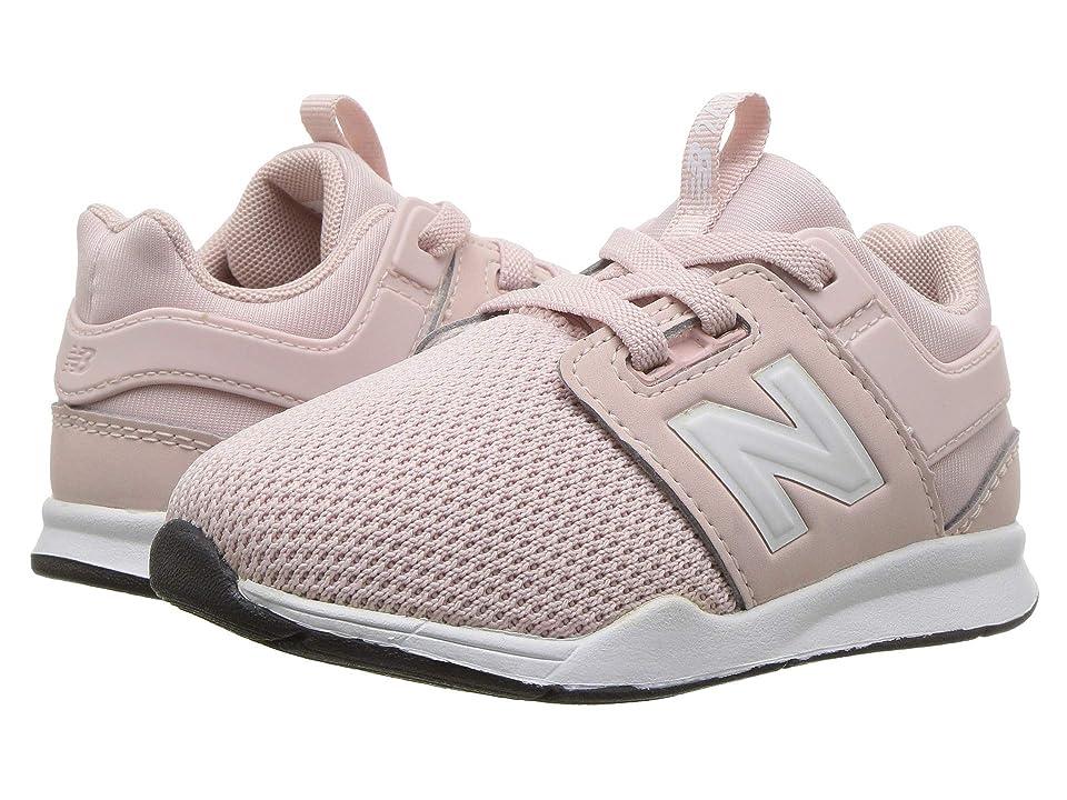 New Balance Kids KA247v2I (Infant/Toddler) (Conch Shell/White) Girls Shoes
