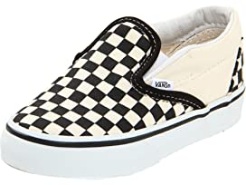 Vans Kids Classic Slip-On (Little Kid Big Kid) at Zappos.com 52612a802