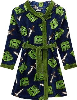 Minecraft Zombie Sword Boys Bathrobe Kids Dressing Gown Night Robe