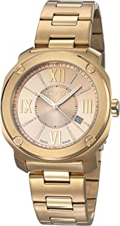 Wenger Men's Quartz Watch analog Display and Stainless Steel Strap, 01.1141.121