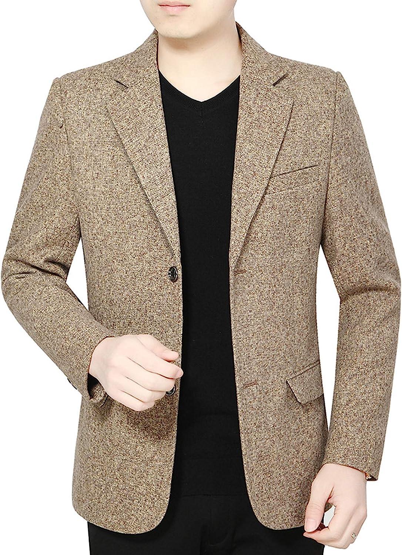 Mens Blazer Slim Fit Sport Coats Casual Suit Jacket Business Daily Blazer