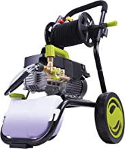 Sun Joe SPX9009-PRO 2.41 HP 1800 PSI 1.6 GPM Commercial Pressure Washer with Roll Cage and Hose Reel