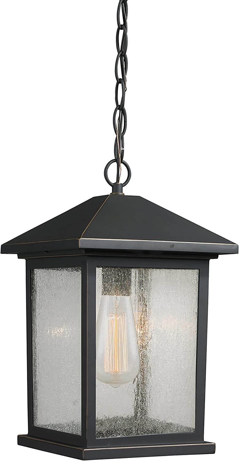 Z-Lite 531CHM-ORB 1 Outdoor OFFicial store Chain Omaha Mall Oil Rubbed Light Bronze