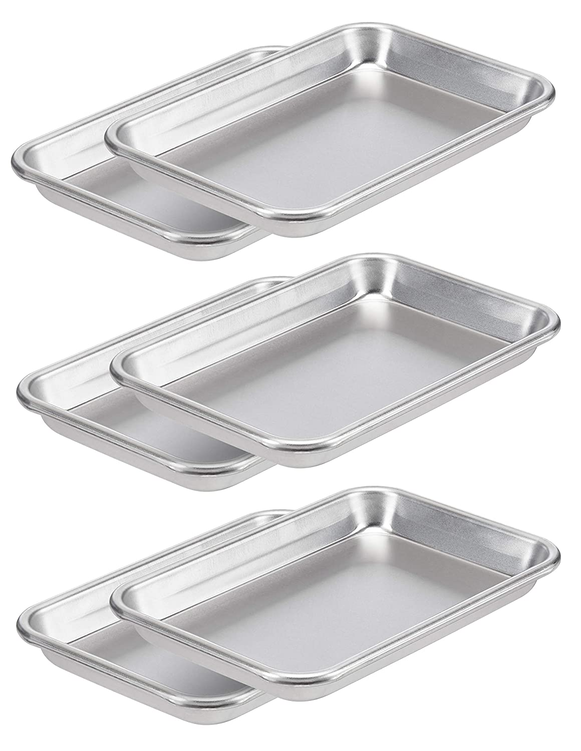 AmazonCommercial Aluminum Baking Inexpensive Sheet Pan 1 8 x In Ranking integrated 1st place 10 7