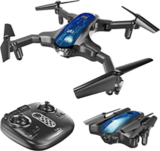 ScharkSpark SS41 Drone with 2 Cameras - 1080P FPV HD Camera/Video and 720P Optical Flow Positioning Camera, RC Toy Quadcop...