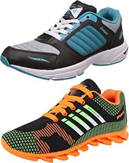 Bavis Men's Combo Pack of 2 Running Shoes (Sports Shoes)