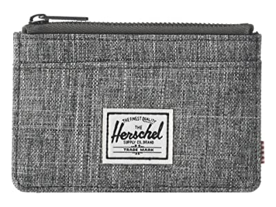 Herschel Supply Co. Oscar RFID (Raven Crosshatch) Wallet Handbags