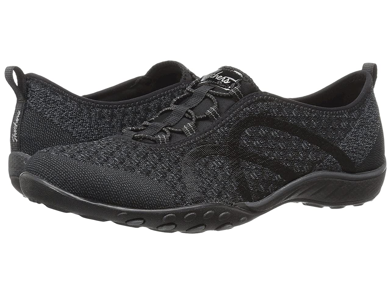 プレフィックスメニューピグマリオンレディーススニーカー?ウォーキングシューズ?靴 Breathe-Easy - Fortuneknit Black 5 (22cm) B [並行輸入品]