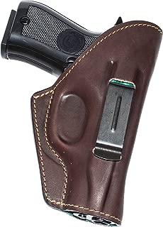 XCH inside waistband concealed carry holster for Walther PPK, IZH-70, Makarov, Bersa Thunder .380, Polish P-64, Ruger LCP, Zastava M57/M70A, Tokarev (TT-33)