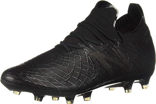 New Balance Hommes's TPF V1 Soccer chaussures, noir, noir, noir, 13.5 2E US 3de
