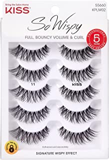 Kiss Products No. 05 Ever EZ Lashes, 10 Count(5 Pairs)