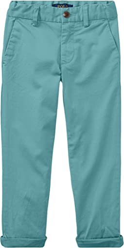 Polo Ralph Lauren Kids Stretch Cotton Skinny Chino (Toddler)