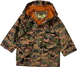 Camo Rain Coat (Toddler/Little Kids)