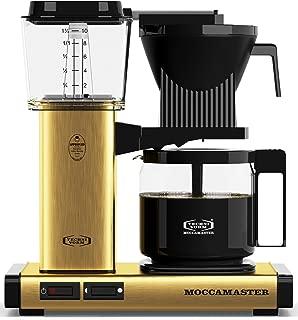 Technivorm Moccamaster 59163 KBG Coffee Brewer, 40 oz, Brushed Brass