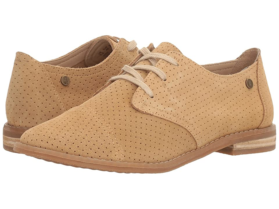 Hush Puppies Aiden Clever (Light Tan Suede Perf) Women
