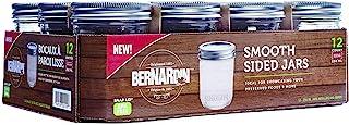 Bernardin 20250 250ml Regular Mouth Mason Jar, Clear