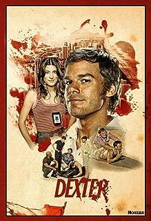bribase shop Dexter Season 6 7 8 poster 36 inch x 24 inch