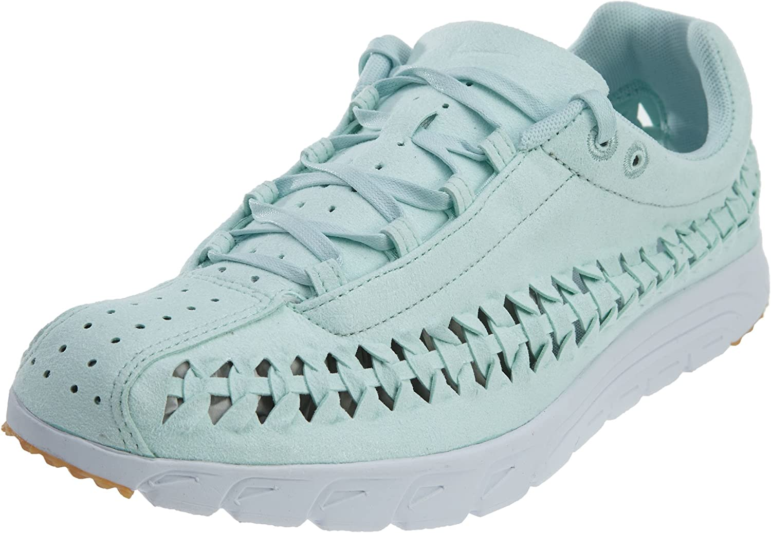 Nike Womens Mayfly Woven QS Suede Low Top Sneakers