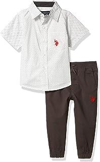 U.S. Polo Assn. boys Pants Set
