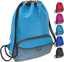 ButterFox Water Resistant Swim Gym Sports Drawstring Bag Backpack for Kids, Men and Women, Waterproof fabric