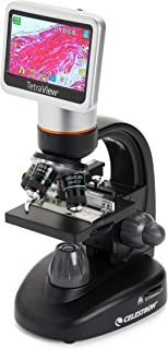Celestron 44347 TetraView LCD Digital Microscope (Black)