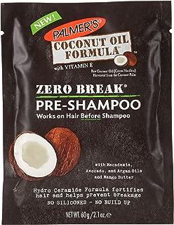 Palmer's Coconut Oil Formula Zero Break Pre-Shampoo Pack | 2.1 ounce (Pack of 12)
