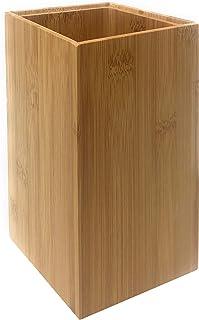 MGE - Porte-Couteaux ou Porte-Ustensiles de Cuisine - Bloc Couteaux Universel - Support à Couteaux De Cuisine - Bambou - 1...