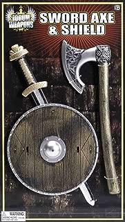 Viking Shield Sword and Axe Child Set