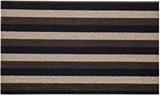 Gorilla Grip Heavy Duty Thick Looped Bristles Doormat, Crush Proof Texture, Catches Dirt from Shoes, Strong Backing, Easy ...