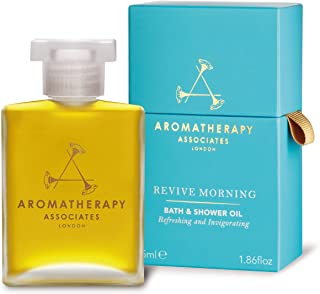 Aromatherapy Associates Revive Morning Bath & Shower Oil, 1.86 Fl Oz infused with Juniper Berry, Neroli and Grapefruit ess...