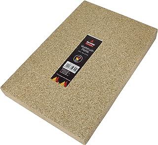 Kamino - Flam 333323 Plancha de Vermiculita, Marrón, 30 x 19.8 x 3 cm