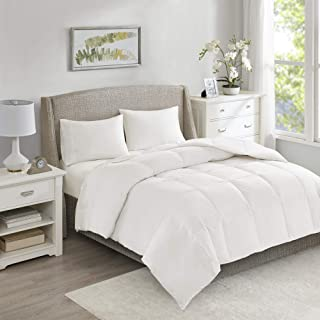 True North by Sleep Philosophy 100% Cotton 80% Feather 20% Down Blend Oversize Comforter, King, Medium Warm